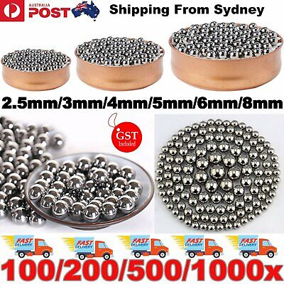 AU3.45 • Buy Steel Loose Bearing Ball Replacement Parts 2.5-8mm Bike Bicycle Cycling Stainles