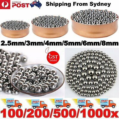 AU3.40 • Buy Steel Loose Bearing Ball Replacement Parts 2.5-8mm Bike Bicycle Cycling Stainles