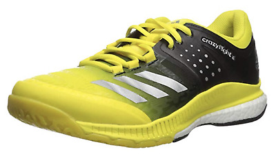 on sale 4c0d0 f29c6 Adidas Women s Crazyflight X Volleyball Shoes Yellow Black BA9267 Multiple  Sizes • 52.20