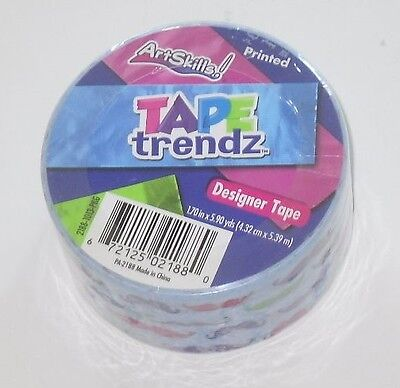 $5.25 • Buy Designer Tape Blue Decoration Art Tape Trendz Duck Duct Tape  See My Other Items