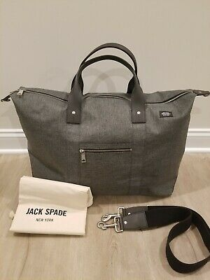 37b82b193baa Jack Spade Men s Tech Oxford Travel Duffle