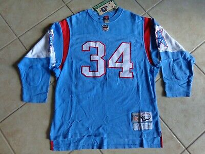 2fae5cf8 VINTAGE Houston Oilers EARL CAMPBELL #34 Jersery Heavy Weight OLD SCHOOL  NICE • 99.50$