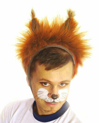 £9.95 • Buy Animal Red Squirrel Fancy Dress Hat Adult Women Men Carnival Costume Party