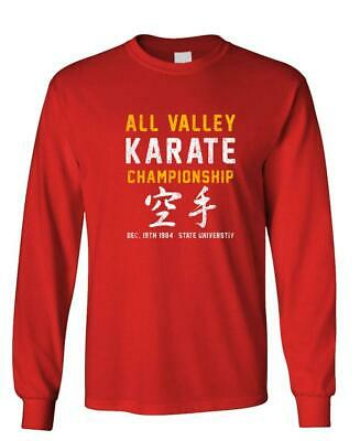 $18.99 • Buy ALL VALLEY KARATE CHAMPIONSHIP - 80's - Long Sleeved Tee