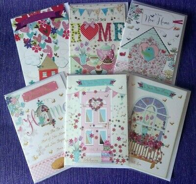 New Home Card Congratulations Moving Friend Family BUY 1 Get 1 HALF PRICE!!  • 1.79£