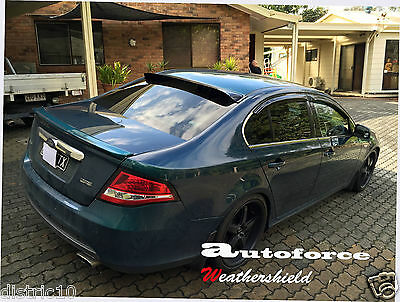 AU125 • Buy Ford Fg Falcon Sedan Rear Roof Visor Spoiler Sun Guard Xr/g6/g6e/xt/turbo