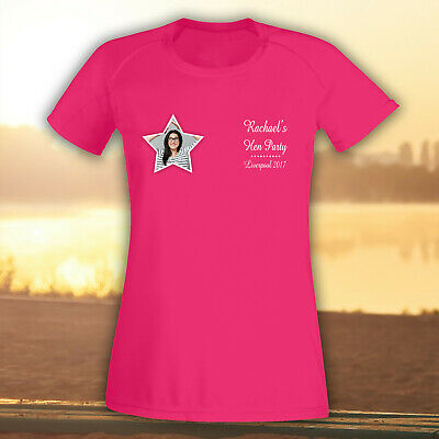 £10.95 • Buy Personalised Hen T Shirts Hen Do Party Night Bride Printed T-Shirt Custom Ladies