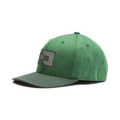 b2890fd9515 PUMA Golf 2019 Rickie Fowler Masters Round 1 Utility Patch Cap Hat COLOR  Greener •