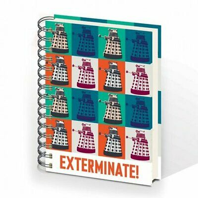 Doctor/Dr Who - EXTERMINATE! A5 Hardback Notebook • 6.99£