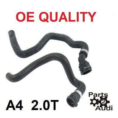 $75 • Buy Coolant Heater Hose Heater Core To Pipe, Audi A4 A4 Quattro ; PAIR 2pcs 2.0T