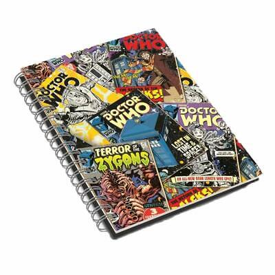 Doctor/Dr Who - Comic A5 Hardback Notebook • 6.49£