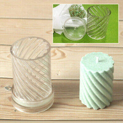 Model Candle Moulds DIY Craft Plastic For Wax Resin Clay Candle Making Latest • 5.94£