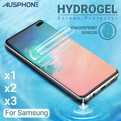 AU3.95 • Buy For SAMSUNG GALAXY S20 Ultra S10 5G PLUS Note 20 10 HYDROGEL Screen Protector