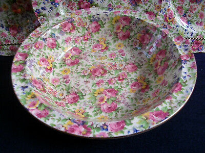 $ CDN248.99 • Buy ROYAL WINTON GRIMWADES SUMMERTIME (c.1945) ROUND SERVING BOWL 9 1/4  - RARE!