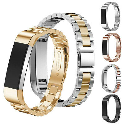 $ CDN8.78 • Buy For Fitbit Alta/Fitbit Alta HR Band Small Large Stainless Steel Metal Bracelet