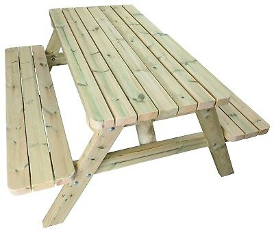 Premium Wooden Picnic Table / Commercial Pub Bench / Garden Picnic Table Bench • 240£