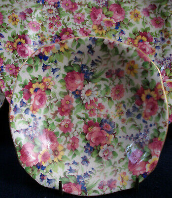 $ CDN48.99 • Buy ROYAL WINTON GRIMWADES SUMMERTIME (c.1940's) ASCOT FRUIT BOWL 5 1/8 - EXCELLENT!
