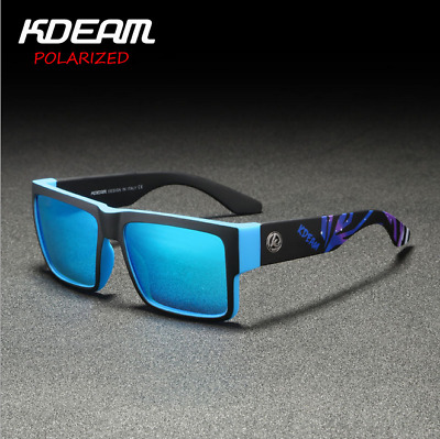 AU14.26 • Buy KDEAM Men Sport Polarized Sunglasses Square Outdoor Driving Fishing Glasses 2020
