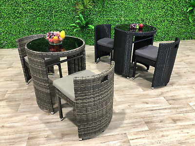 AU400 • Buy New Outdoor Decor Compact Space Saving 3 Piece Dining Setting Furniture