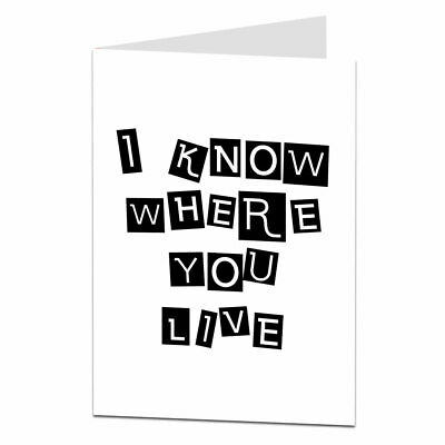 New Home Card Funny Congratulations On Your New House Moving Cards • 2.99£