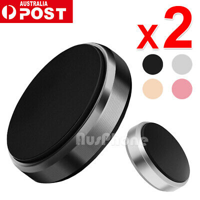 AU6.45 • Buy 2X Universal Magnetic Magnet Car Phone Holder Mount Stand For GPS IPhone Samsung