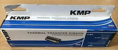 £11 • Buy KMP Thermal Transfer Ribbon F-B1 Compatible With Brother Fax 901/917/920/930/940