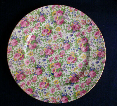 $ CDN124.99 • Buy ROYAL WINTON GRIMWADES SUMMERTIME (c.1932+) SMOOTH DINNER PLATE 10 - EXCELLENT!