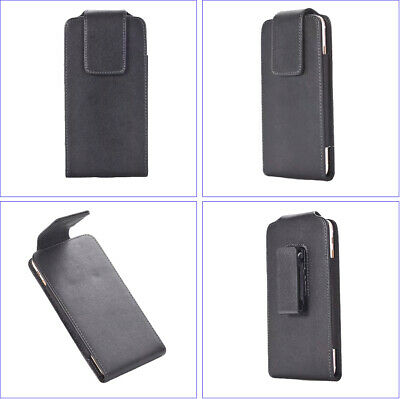 AU7.59 • Buy Leather Belt Clip Phone Case, 360º Rotary SWIVEL Belt Loop Holster Pouch Cover