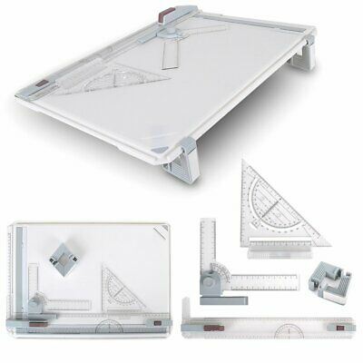 A3 Drawing Board Table Top Architects Technical Design Drafting Parallel Ruller • 19.99£