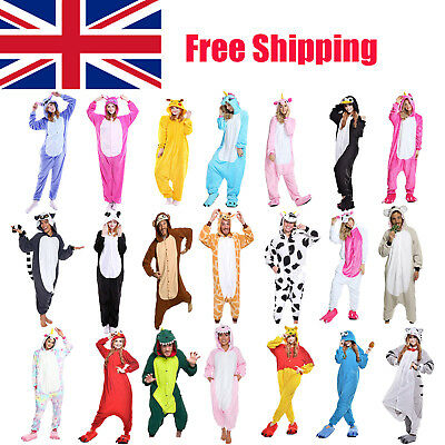 Unisex Adult Animal Onsie88Onesie12 Anime Cosplay Pyjama Kigurumi Fancy Dress UK • 15.88£