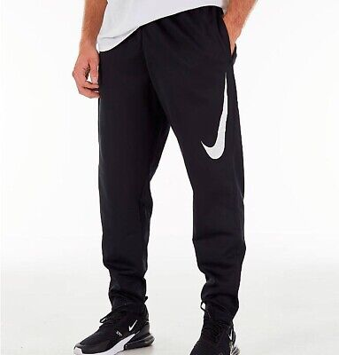 bf4a8807604e Men s Nike Therma Pants Black Fitted Athlete Sweatpants Jogger Dri Fit S M  L XL • 43.99