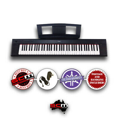 AU549.99 • Buy Yamaha Piaggero NP32 76 Key Digital Piano Keyboard & Adaptor & 5 Year Warranty