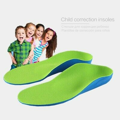 Kids Children Orthopedic Insoles Shoes Flat Foot Arch Support Health Feet Cares • 11.31£