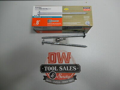 $ CDN107.01 • Buy Simpson Strong Tie Timber Hex Screw 8  (30) Coated Washer Head