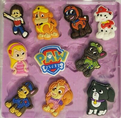 Paw Patrol Set Silicone Mould For Cake Toppers, Chocolate, Clay Etc • 8.99£