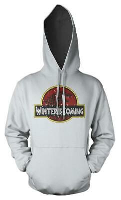 Game Of Thrones Dinosaur Park Winter Is Coming Mashup Adults Hoodie • 16.99£
