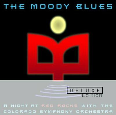 The Moody Blues - A Night At Red Rocks With The Colorado Symphone Orchestra [CD] • 9.98£