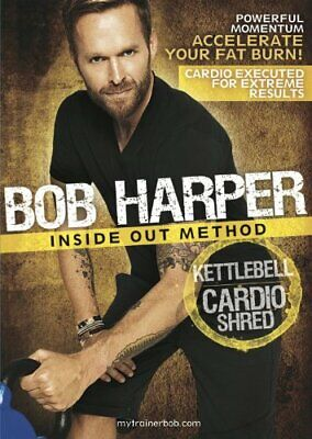 NEW AND SEALED! GoFit Bob Harper Inside Out Method – KettleBell Cardio Shred  • 10.53£