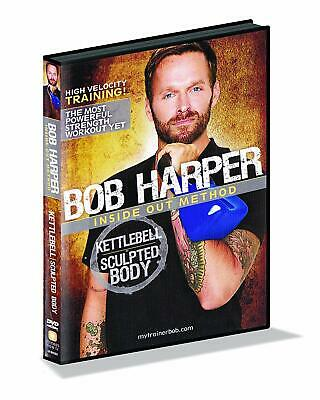 NEW AND SEALED! GoFit Bob Harper Kettlebell Sculpted Body 50 Minutes • 10.53£