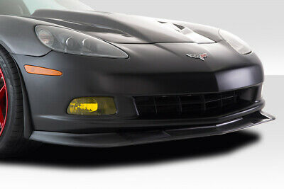 $230 • Buy Duraflex C6 ZR Front Lip Splitter 3 Piece ( Base Model) For Corvette Chevro