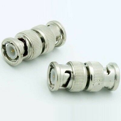 $ CDN1.67 • Buy BNC Coupler Male~M Short Cable/cord Adapter,Video/Security/Camera/DSR/Cam/CCTV