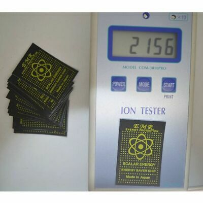 Anti-radiation Chip Shield Sticker Emr Scalar Energy Laptop Anti Emp Emf Protect • 7.02£