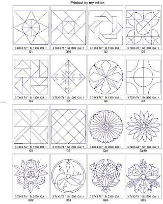 $17.85 • Buy 4,200+/ Quilt Designs Brother Embroidery Machine Design Collection Set Pes On Cd