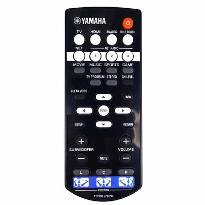 AU60.73 • Buy NEW Genuine Yamaha FSR86 ZP80780 Soundbar Remote Control