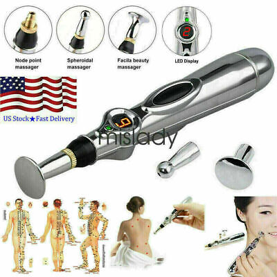 $9.99 • Buy Electronic Therapy Zen Pen Acupuncture Meridian Body Massage Pain Relief Energy