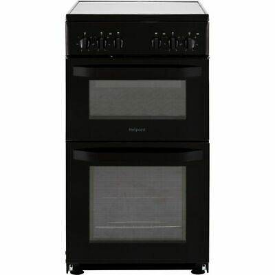 Hotpoint HD5V92KCB Cloe Free Standing A Electric Cooker With Ceramic Hob 50cm • 319£