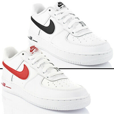be1610d1393 Nuevo Zapatos Nike Air Force 1-3 Gs Mujer Unisex Low Deportiva Botín • 71.30