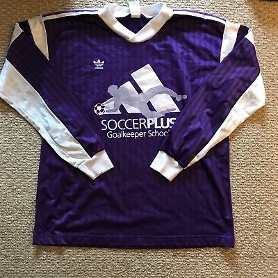 ada32fded1a Super Rare Vintage 1980s Adidas Soccerplus Goalkeeper Jersey Size XL New  Mens • 32.00