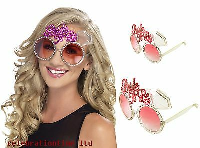 Bride To Be Glasses Hen Night Party Accessories Bachelorette Novelties & Favours • 1.99£