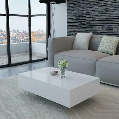 AU168.50 • Buy Modern Rectangular Living Lounge Room Furniture Coffee Table - High Gloss White